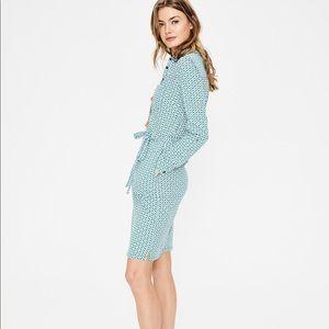 BODEN| Jena Jersey Shirt Dress Sz: 12L